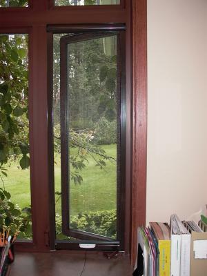 motorized retractable window screens