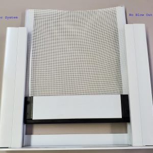 Retractable Garage Door Screen MZT -136
